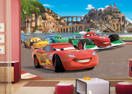 Disney Premium wall mural Cars in Italy